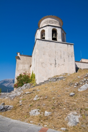 Basilica church of St. Biagio. Maratea. Basilicata. Italy. photo