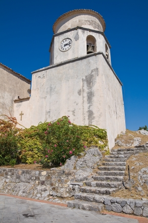 Basilica church of St. Biagio. Maratea. Basilicata. Italy. Stock Photo - 17439119