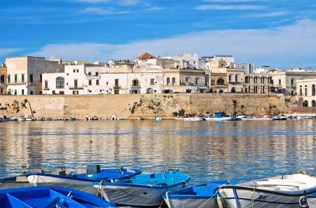 Panoramic view of Gallipoli  Puglia  Italy