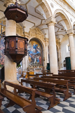 Basilica Cathedral of St  Agata  Gallipoli  Puglia  Italy