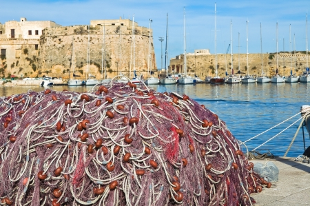 Panoramic view of Gallipoli  Puglia  Italy   Stock Photo - 17465707