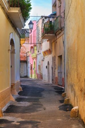 Alleyway. Galatone. Puglia. Italy.