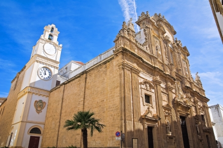 Basilica Cathedral of St. Agata. Gallipoli. Puglia. Italy.  photo