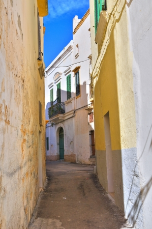 Alleyway. Gallipoli. Puglia. Italy. Stock Photo - 17474830