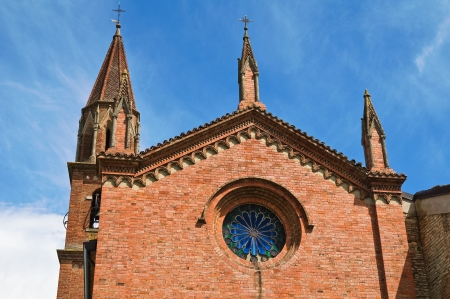 Church of St. Lorenzo. Veano. Emilia-Romagna. Italy. Stock Photo - 17474983