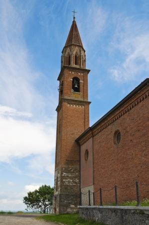 Church of St. Lorenzo. Veano. Emilia-Romagna. Italy. Stock Photo - 17475001