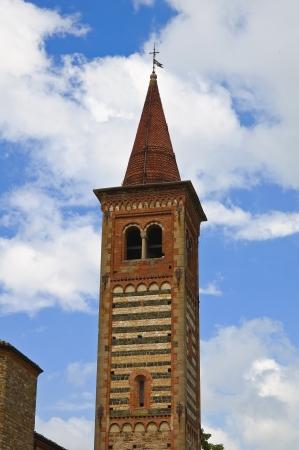 Church of St. Savino. Rezzanello. Emilia-Romagna. Italy.
