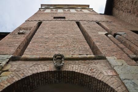 piacenza: Farnese Palace  Piacenza  Emilia-Romagna  Italy  Stock Photo