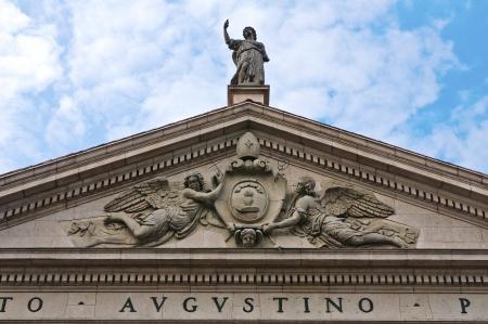 piacenza: Basilica of St  Agostino  Piacenza  Emilia-Romagna  Italy