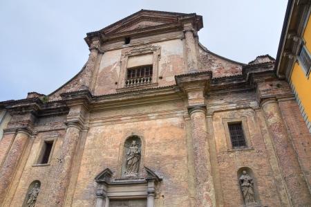 carmine: Church of Carmine  Piacenza  Emilia-Romagna  Italy
