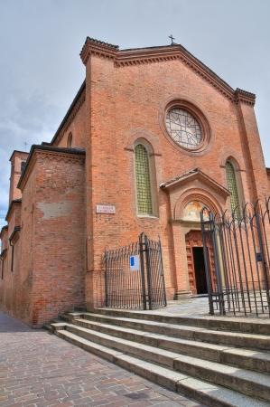 piacenza: Santuario de Santa Rita Piacenza Emilia-Romagna Italia Foto de archivo
