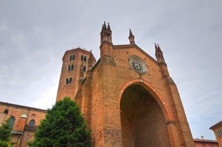 piacenza: Basilica of St  Antonino  Piacenza  Emilia-Romagna  Italy   Stock Photo