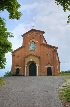 castellana: Church of Castellana. Emilia-Romagna. Italy.