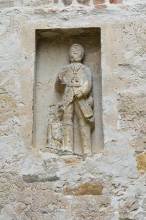 oratoria: Oratorio de la iglesia de Vigoleno Emilia-Romagna Italia