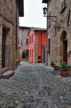 urbanistic: Alleyway  Castellarquato  Emilia-Romagna  Italy