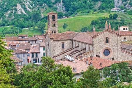 Abbey of St  Colombano  Bobbio  Emilia-Romagna  Italy  photo