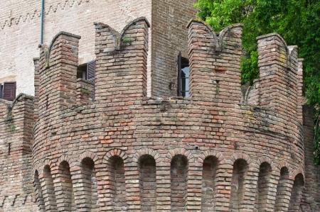 urbanistic: Castle of Fontanellato. Emilia-Romagna. Italy.