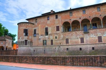 urbanistic: Castle of Fontanellato  Emilia-Romagna  Italy