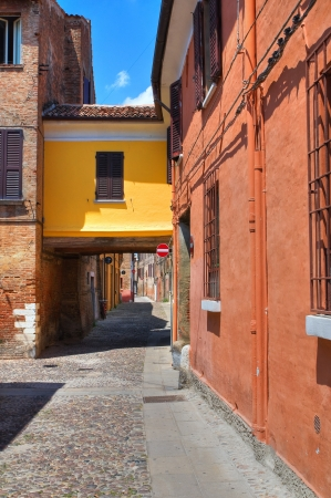 Alleyway. Ferrara. Emilia-Romagna. Italy. Stock Photo - 18133639