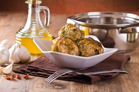 Stuffed artichokes   Stock Photo - 18247723