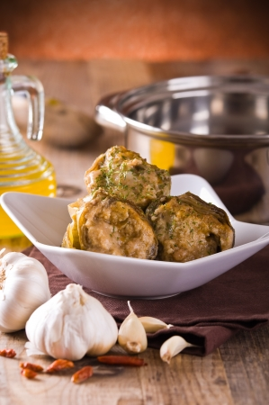 Stuffed artichokes   Stock Photo - 18247712