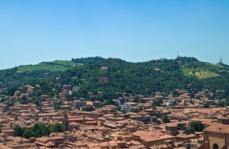 Panoramic view of Bologna. Emilia-Romagna. Italy.  photo