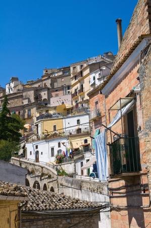Panoramic view of Santagata di Puglia  Puglia  Italy Stock Photo - 18290055