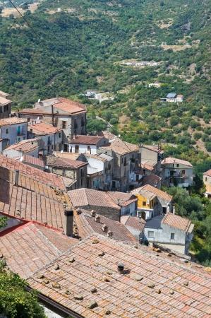 valsinni: Panoramic view of Valsinni  Basilicata  Italy
