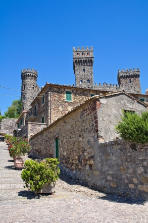 Castle of Torre Alfina  Lazio  Italy  Stock Photo - 18306000