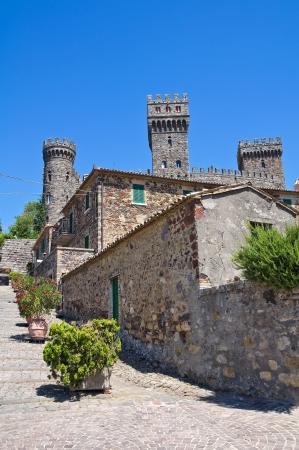 Castle of Torre Alfina  Lazio  Italy  Stock Photo - 18306000