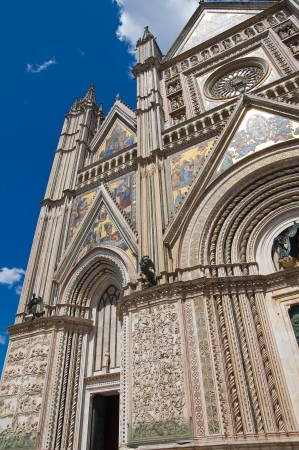 Cathedral of Orvieto. Umbria. Italy.  Stock Photo - 18310217