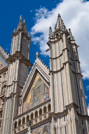 etrurian: Cathedral of Orvieto. Umbria. Italy.