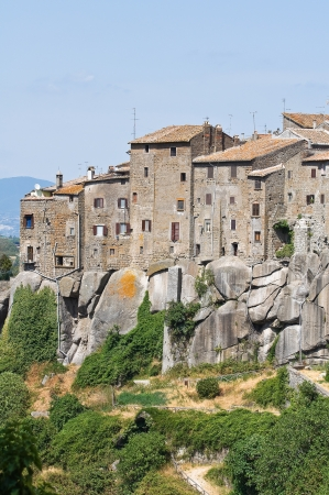vitorchiano: Panoramic view of Vitorchiano  Lazio  Italy