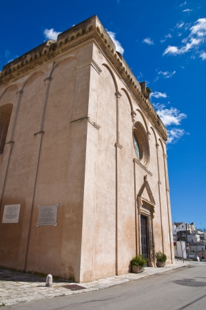 Mother Church of Massafra. Puglia. Italy. Stock Photo - 18415605