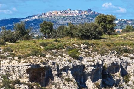 mottola: Panoramic view of Massafra. Puglia. Italy.