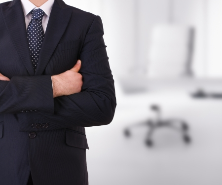 Business man with arms crossed Imagens - 18550144