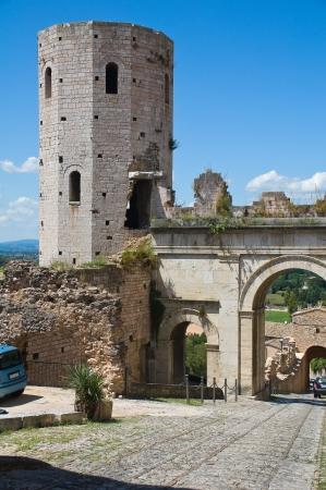 spello: Porta Venere. Spello. Umbria. Italy.