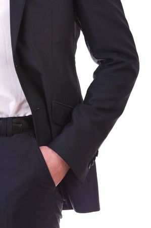 Business man with hand in his pocket  photo