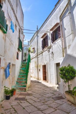 Alleyway. Mottola. Puglia. Italy.  Stock Photo - 19125082