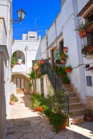 Alleyway. Mottola. Puglia. Italy.  photo