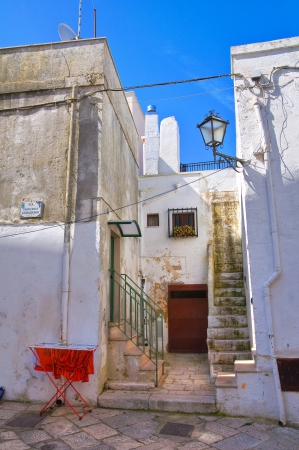 Alleyway. Mottola. Puglia. Italy.  Stock Photo - 19125085
