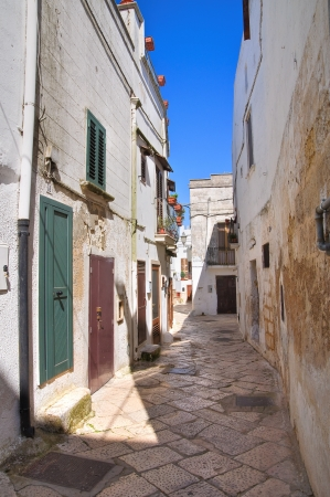 Alleyway. Mottola. Puglia. Italy.  Stock Photo - 19125066