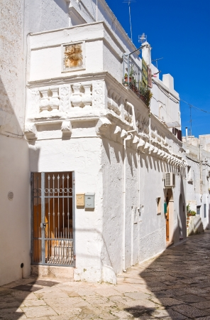 Alleyway. Mottola. Puglia. Italy.  photo