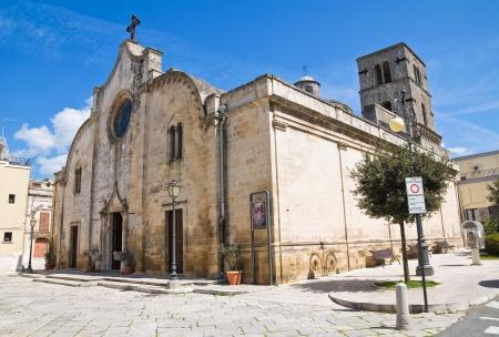 Mother Church. Mottola. Puglia. Italy.  photo
