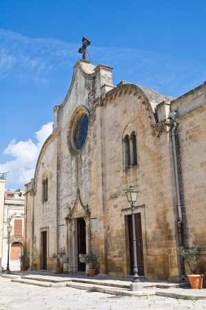Mother Church. Mottola. Puglia. Italy.  Stock Photo