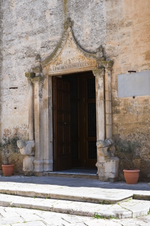 mottola: Mother Church. Mottola. Puglia. Italy.  Stock Photo