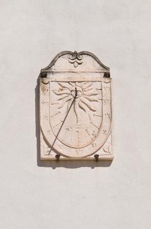 mottola: Sundial  Mottola  Puglia  Italy
