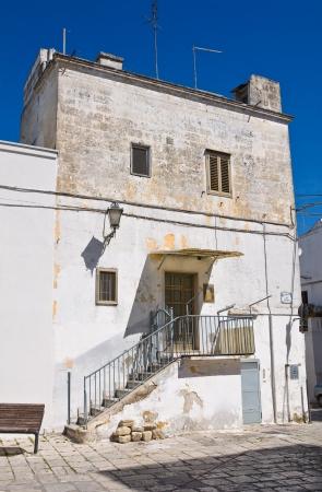 mottola: Alleyway  Mottola  Puglia  Italy   Stock Photo