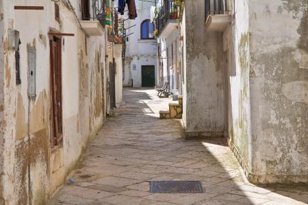 Alleyway  Mottola  Puglia  Italy   Stock Photo