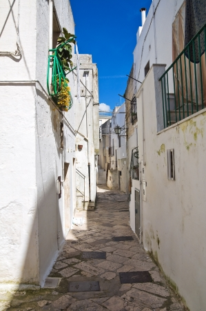 Alleyway  Mottola  Puglia  Italy   Stock Photo - 19125038